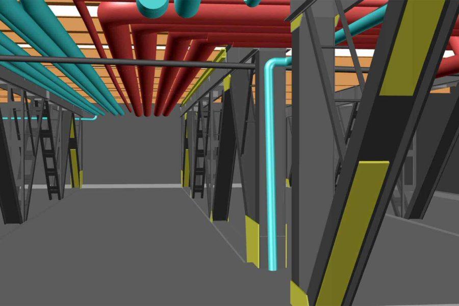Scanner 3D pour modéliser des arêtes, faces et volumes